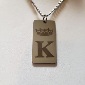 """""""Fit For A King"""" Pendant Necklace"""